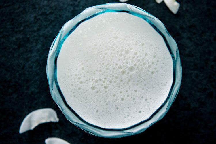Hjemmelavet kokosmælk