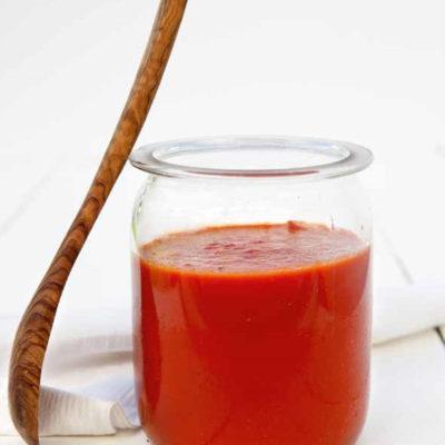 Verdens bedste tomatsauce