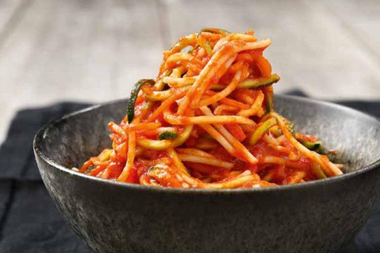 Spaghetti med verdens bedste tomatsauce